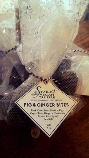 Sweet Vegan Truffle Fig & Ginger Bites 2 pcs 1.75 oz
