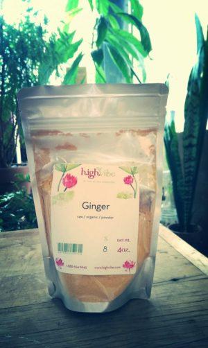 Organic Ginger Powder 4 oz