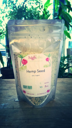 Hemp Seeds (raw, organic)