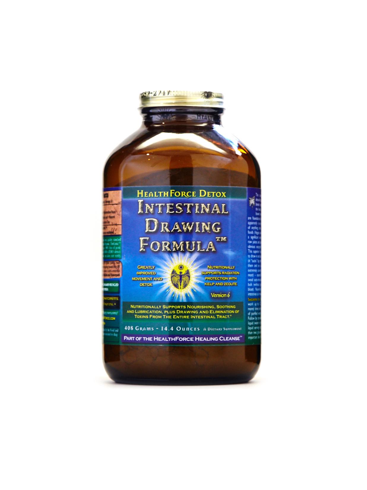 HealthForce Nutritionals - Intestinal Drawing Formula, 408 Grams Powder