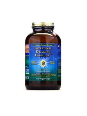 HealthForce Superfoods - Intestinal Drawing Formula, 260 VCapsules
