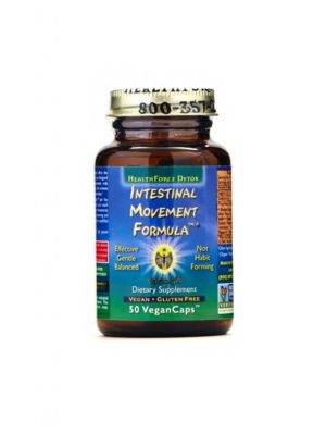 HealthForce Superfoods - Intestinal Movement Formula, 50 VCapsules