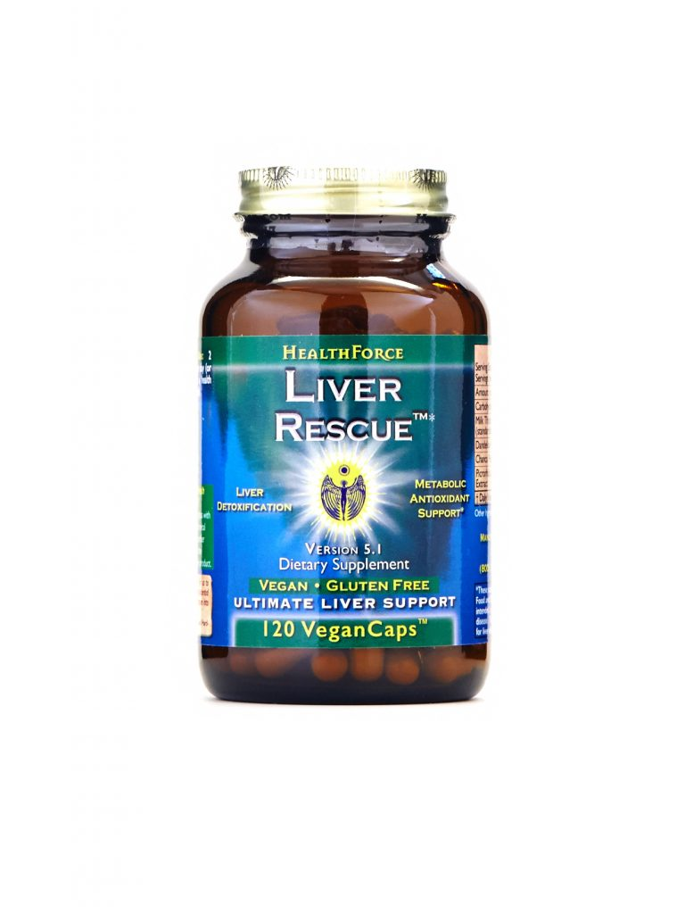 HealthForce Nutritionals - Liver Rescue, 120 VCapsules