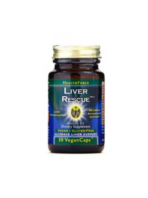 HealthForce Superfoods - Liver Rescue, 30 VCapsules