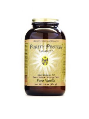 HealthForce Superfoods Purity Protein pure vanilla 17.65 oz / 500 Grams