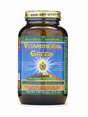 HealthForce Superfoods - Vitamineral Green, 5 Ounces / 150 Grams Powder