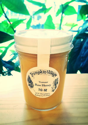 Pumpkin Village Raw Honey 10 oz