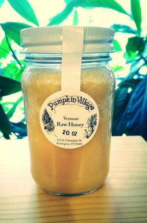 Pumpkin Village Raw Honey 20 oz