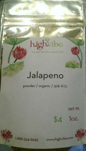 Jalapeno Powder / Organic / 30K H.U. 1oz