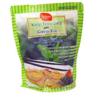 Green Tea Kelp Noodles Sea Tangle 12oz