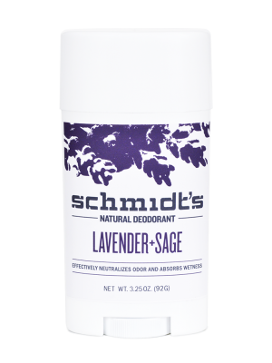 Schmidt's Natural Deodorant Stick Lavender and Sage 3.25 oz