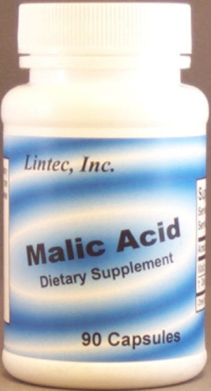 Malic Acid, 90 caps