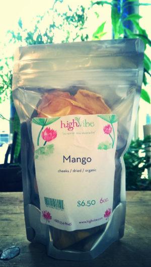 Mango Slices / Dried / Organic High Vibe Bulk 6oz
