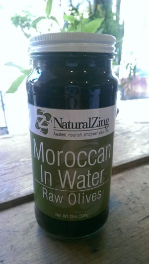 Moroccan Olives In Water Black (Raw, Sustainably-grown)12 oz - Natural Zing