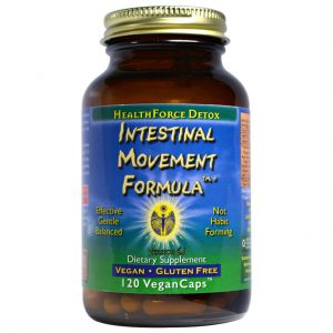 HealthForce Superfoods - Intestinal Movement Formula, 120 VCapsules