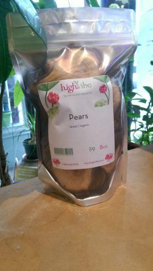 Pears Dried / Organic / High Vibe Bulk 8oz