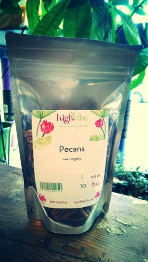 HighVibe- Pecans (raw, organic)