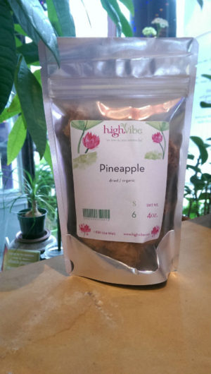 HighVibe - Pineapple Dried / Organic- Bulk 4oz