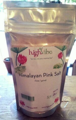 Himalayan Pink Salt Fine 8oz