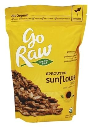 Go Raw Sprouted Sunflower Seeds 16 oz