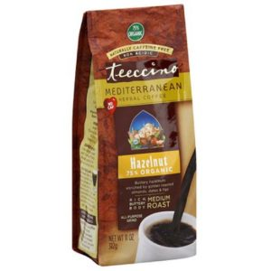 Teeccino Herbal Coffee Medium Roast Hazelnut 11oz