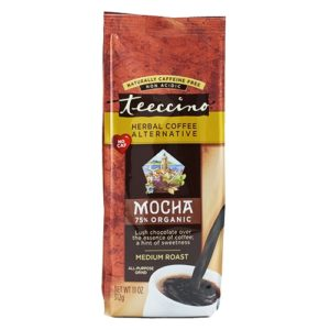 Teeccino Herbal Coffee Medium Roast Mocha 11oz