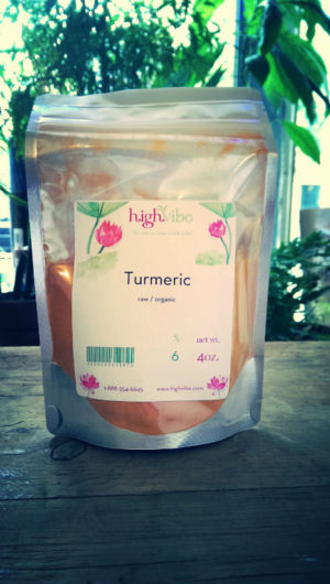 Organic Raw Turmeric powder 4oz