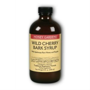 Honey Gardens Apitherapy Wild Cherry Bark Syrup 8 fl oz