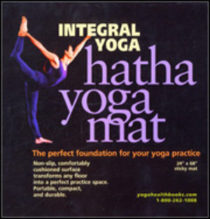 Integral Yoga Mat Blue