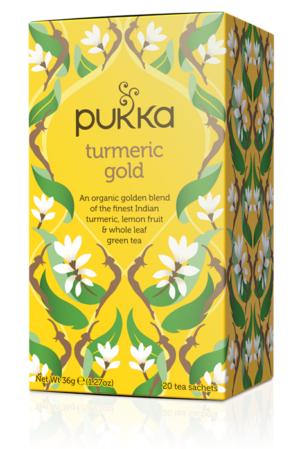 Pukka Tea Turmeric Gold 20 bags