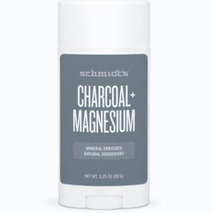 Schmidt's Natural Deodorant Stick Charcoal + Magnesium 3.25 oz