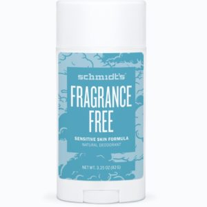 Schmidt's Natural Sensitive Deodorant Fragrance-Free 3.25 oz