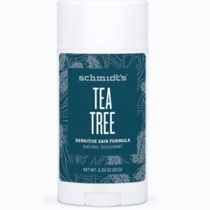 Schmidt's Natural Sensitive Deodorant Tea Tree 3.25 oz