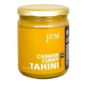 JEM Cashew Curry Tahini Sauce Raw/Vegan