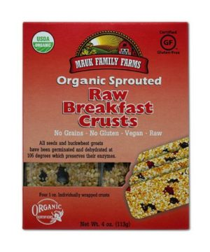 Mauk Family Farms Raw Breakfast Crusts - Sprouted Organic 4 oz