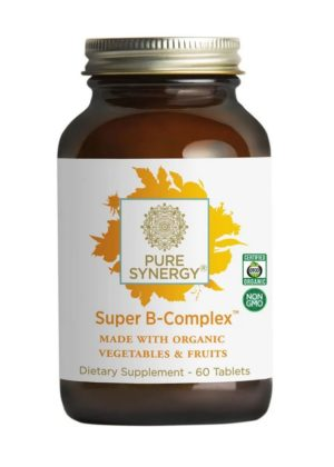 Pure Synergy Super B-Complex 60 tablets