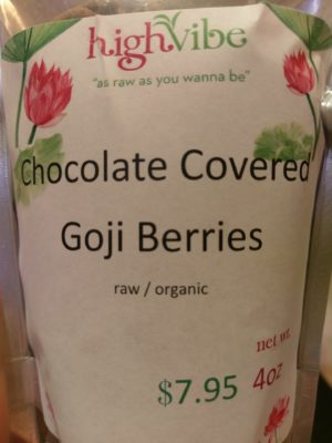 Chocolate Covered Goji Berries
