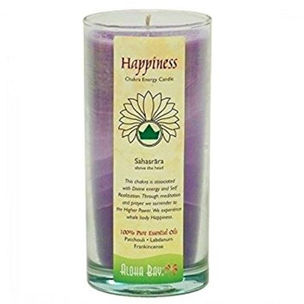 Aloha Bay Happiness Chakra Candle