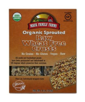 Mauk Family Farms Raw Wheat Free Crusts - Sprouted Organic 4 oz