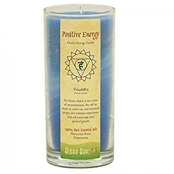 Aloha Bay Positive Energy Chakra Candle