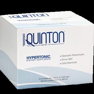 Original Quinton Hypertonic 30 Ampoules