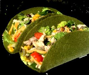 Raw Wraps Spinach Soft Taco - 6 pieces