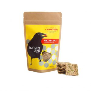 Hungry Bird Eats Rye & Sea Salt Nordic Crisps