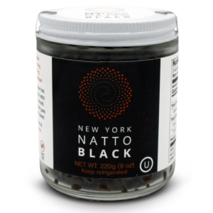 NYrture New York Natto BLACK 8oz jar