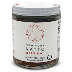 NYrture New York Natto TRADITIONAL 7.8oz jar