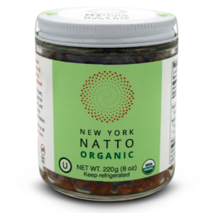 NYrture  New York Natto ORGANIC 8oz Jar