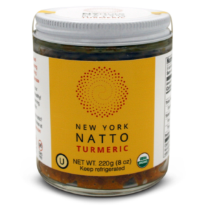 NYrture New York Natto TURMERIC 8oz jar