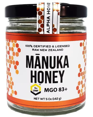 100% New Zealand Manuka Honey UMF 5+ MGO 83