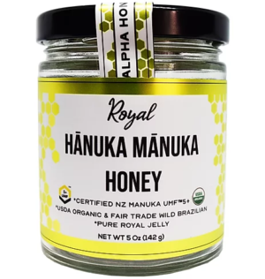 Royal Hanuka Manuka Honey