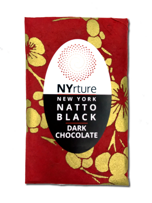 New York Natto Black - Dark Chocolate Bar (1.4 oz)